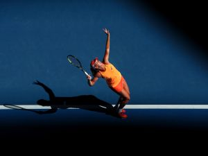 CoCo Vandeweghe's serve is one of the strongest on the WTA Tour. (Photo: Getty Images)