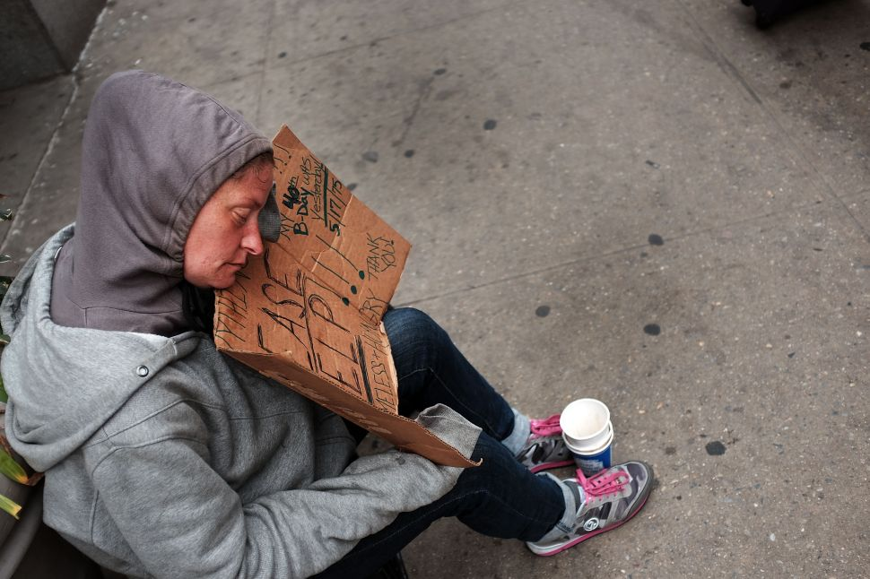 Grim Data Reveals City's Poverty Rate Isn't Getting Any Better