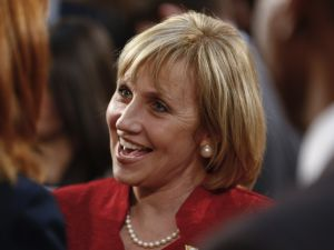Lt. Gov. Kim Guadagno, who broke her long silence when she came out against a ballot question favored by Governor Chris Christie (Jeff Zelevansky/Getty Images)