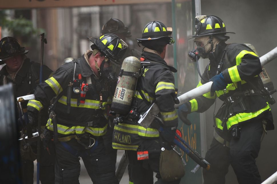 City Reaches Deal With Firefighters on New Contract and Disability Benefits
