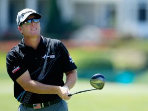 ORLANDO, FL - MARCH 20: D.A. Points of the United States hits his tee shot on the 18th hole during the first round of the Arnold Palmer Invitational presented by MasterCard at the Bay Hill Club and Lodge on March 20, 2014 in Orlando, Florida. (Photo by Michael Cohen/Getty Images)
