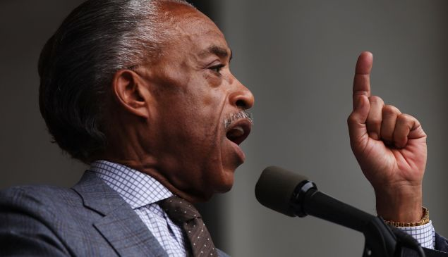 Rev. Al Sharpton of the National Action Network.
