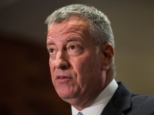 Mayor Bill de Blasio. (Photo: Burton/Getty Images)