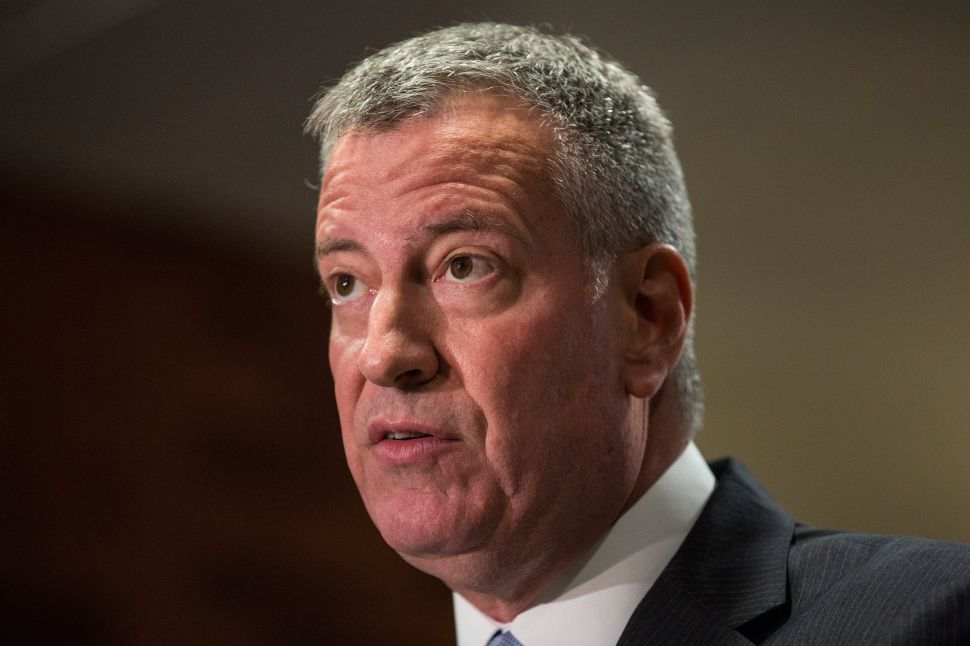 More Voters Than Ever Disapprove of Bill de Blasio