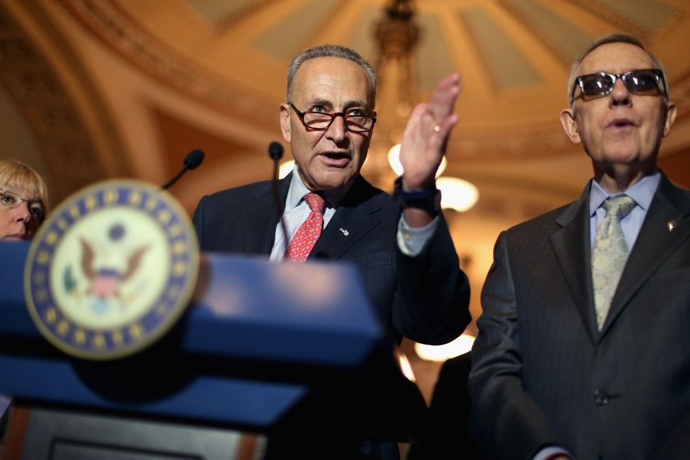 Thank You, Senator Schumer: Iran Opposition a Profile in Courage