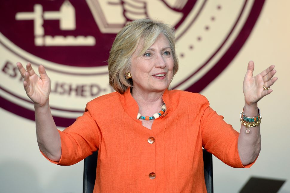 Hillary Battles the GOP Hate Machine