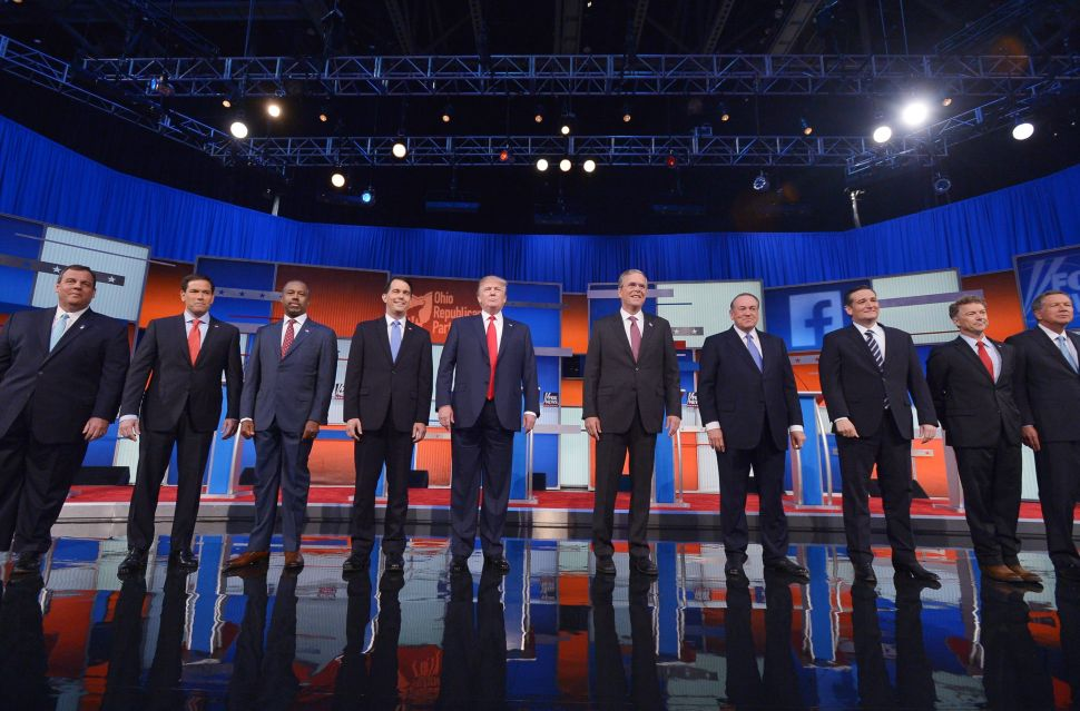 Eight Takeaways From the First Republican Presidential Debate