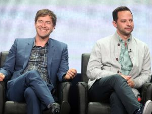 speaks onstage during 'The League' panel discussion at the FX portion of the 2015 Summer TCA Tour at The Beverly Hilton Hotel on August 7, 2015 in Beverly Hills, California.