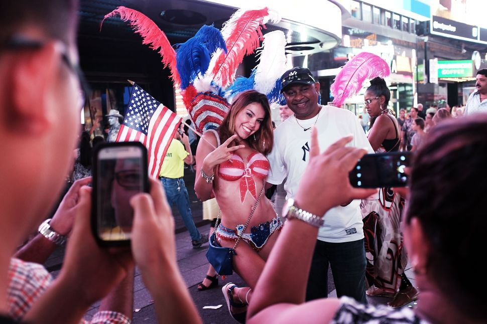 Council Votes to Crack Down on Naked Ladies and Costumed Characters in Times Square