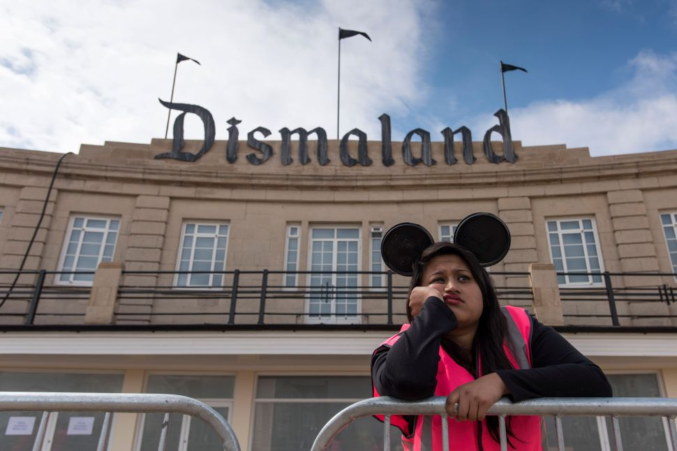 The First Photos of Banksy's Anti-Theme Park 'Dismaland'