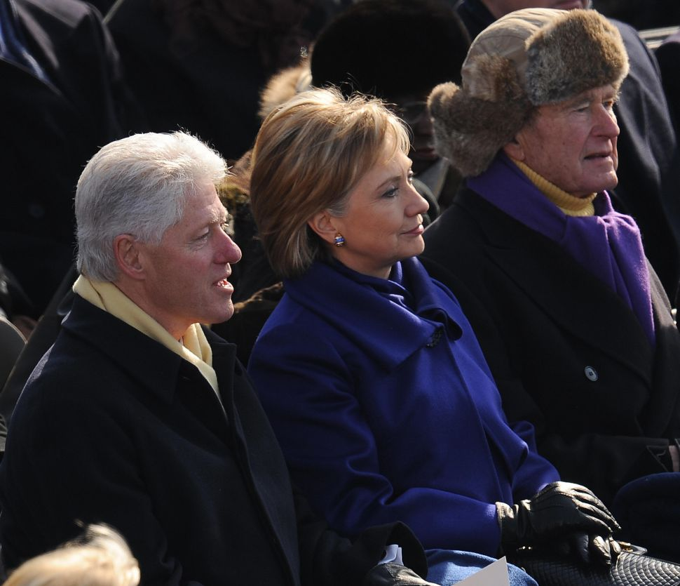 Will Hillary Follow George H.W. Bush's Road to the White House?