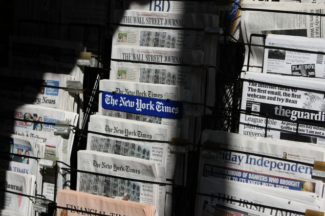 Newspaper Death Spiral Made Plain in One Chart