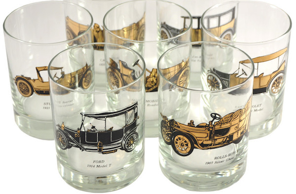 The Drinks: Golden Age Elixirs in Vintage Glassware