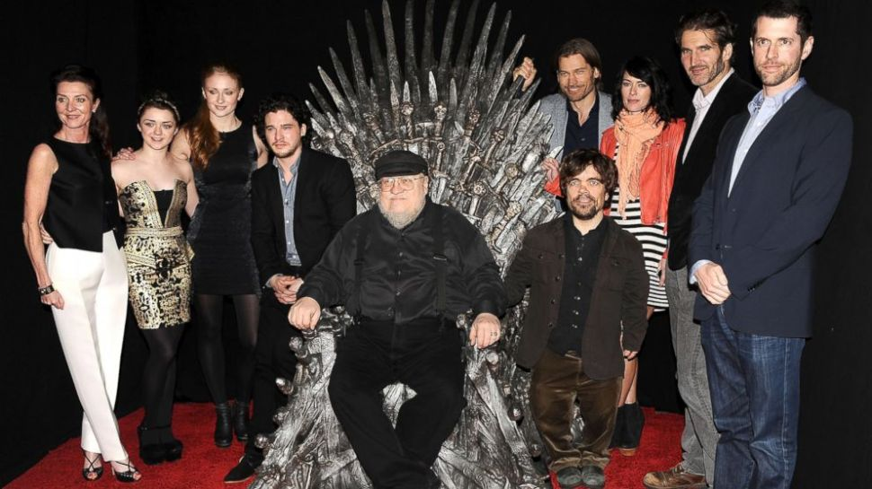 Exclusive: George R.R. Martin Says 'Game of Thrones' Ending Will Be 'Bittersweet'