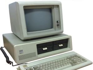Happy birthday to the IBM PC, which may seem clunky now but was a smash in its day. (Photo: Google Commons)