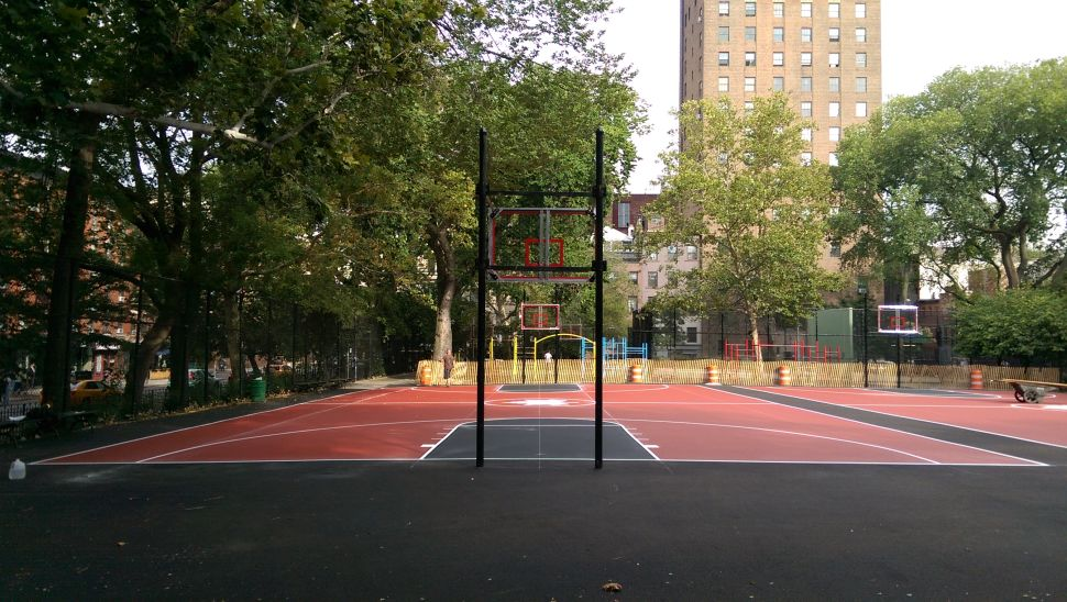 After Delays, Renovated Tompkins Square Park Basketball Court Reopens