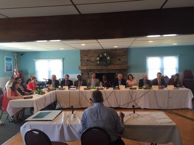 State Legislature Inquires Into Pollution on the Shore