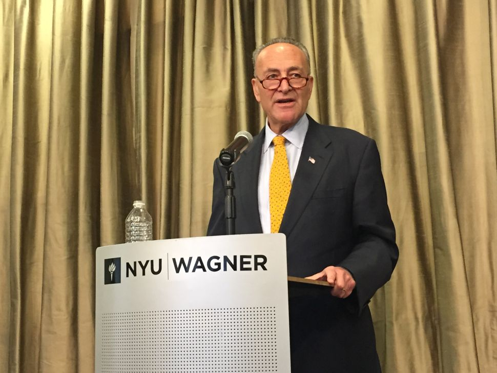 Schumer on Iran Deal: 'I Won't Be Able to Force Anybody to Vote My Way'