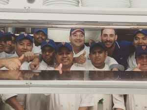 Matt Harvey and The Lure Fish Bar Staff (Photo: Scott Slattery).