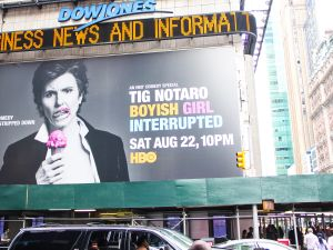 Tig Notaro is larger than life. (Observer)