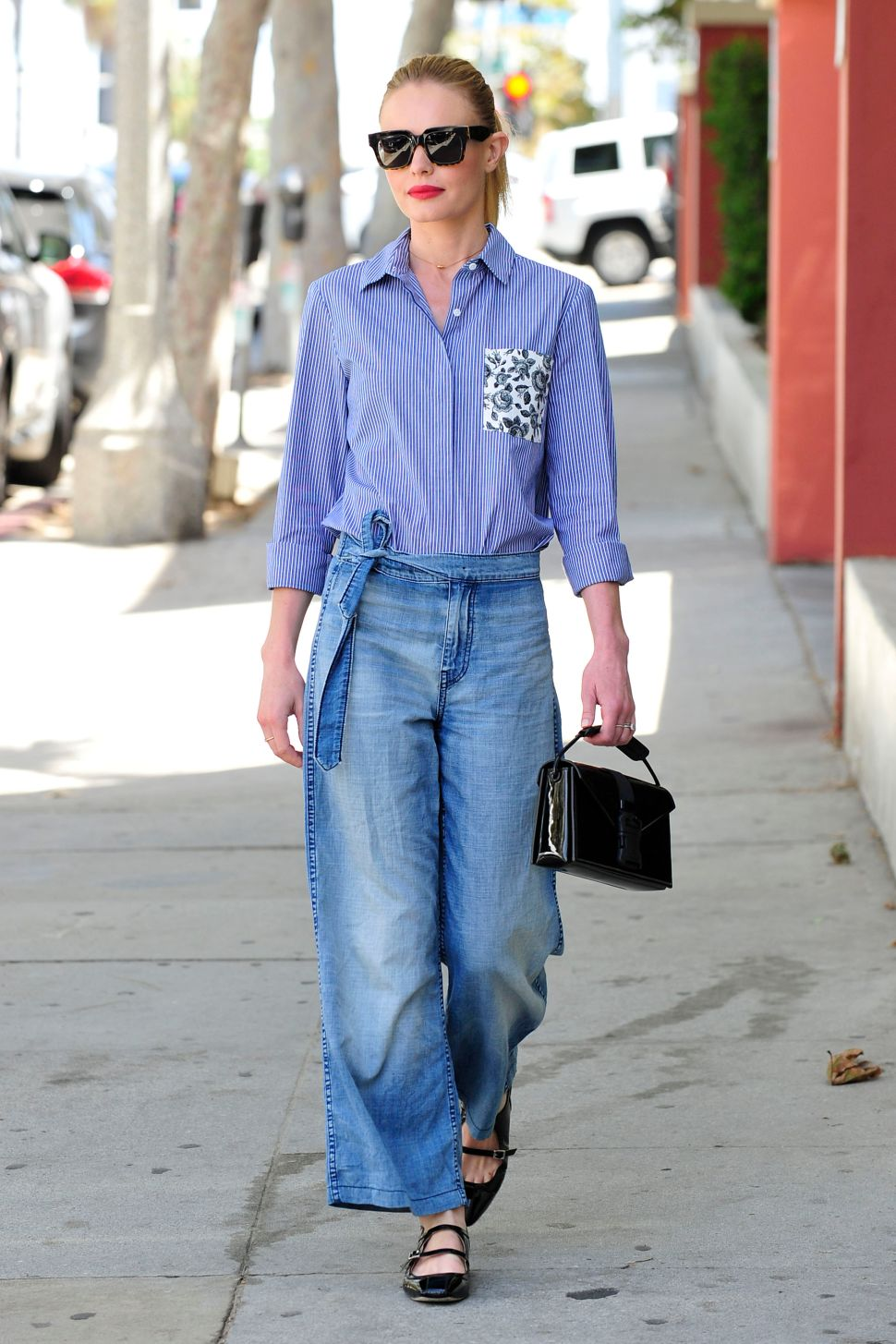 Kate Bosworth Proves That Culottes Are the New Skinny Jeans