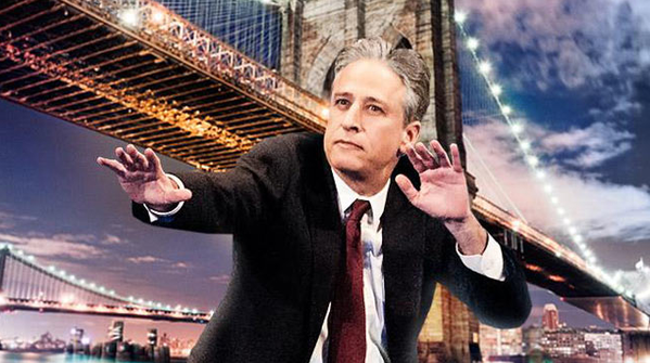 Why Jon Stewart's First Post-'Daily Show' Gig Is Perfect