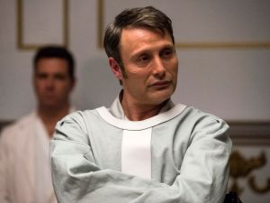 """HANNIBAL -- """"The Number of the Beast is 666"""" Episode 312 -- Pictured: Mads Mikkelsen as Hannibal Lecter -- (Photo by: Brooke Palmer/NBC)"""