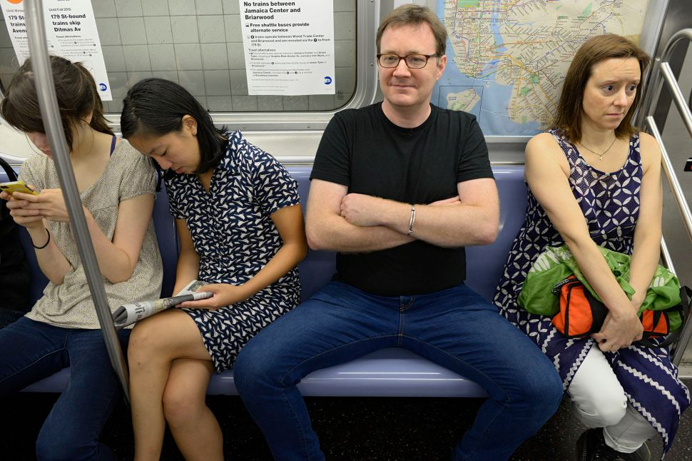 Manspreading, Subway Takeout and Dollar Slices: New Free Stock Photos for NYC