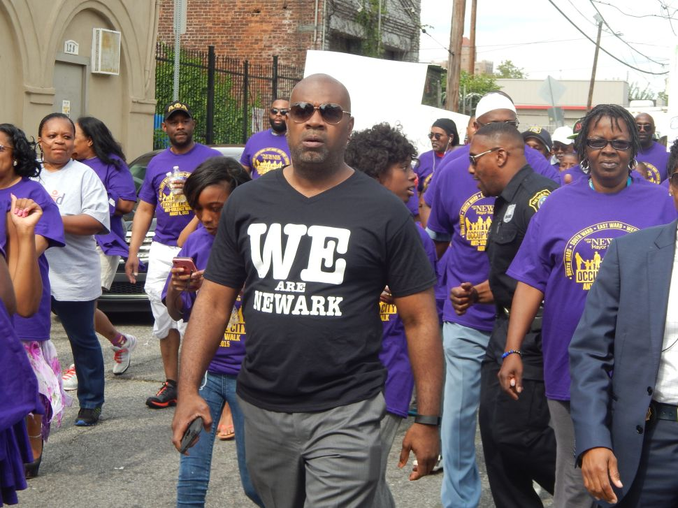 In the Streets, Baraka Urges Newarkers to Join the March Against Violence