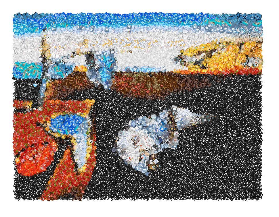 11 Classic Artworks Reimagined as Emoji Mosaics