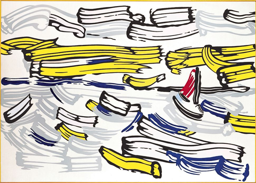 Sea and Sky: Hamptons Exhibit Shows the Other Side of Roy Lichtenstein