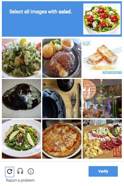 These New CAPTCHAs Are Making Me Hungry (and Confused)