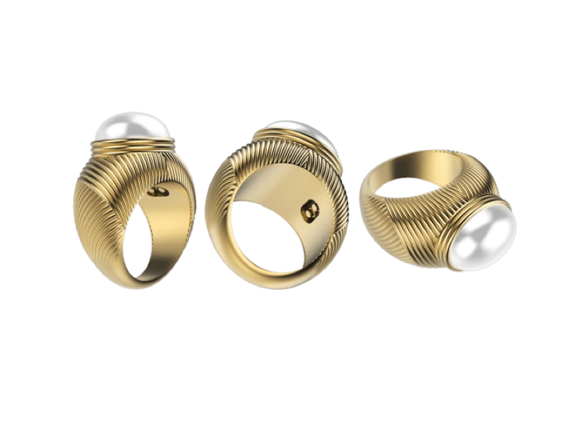 Is This High Tech Bauble the Future of Engagement Rings?