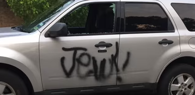 San Antonio Neighborhood Desecrated by Anti-Semitic Attack
