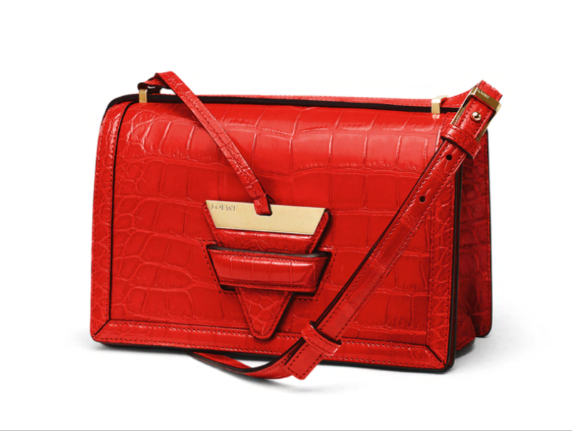 Could a Red Crocodile Purse Actually Become a Closet Staple?