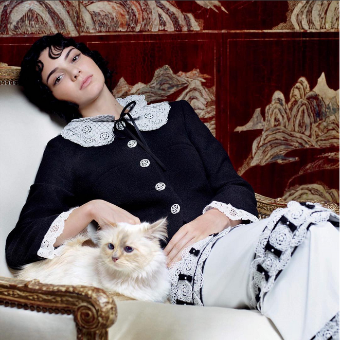 The Many Muses of Karl Lagerfeld, From Kendall Jenner to Tilda Swinton