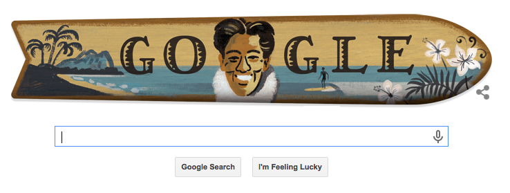 Google Doodle 'Father of Surfing' Honoree Was Also an Actor, 5-Time Olympic Medalist