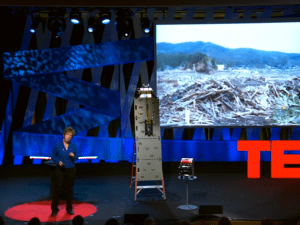 Robin Murphy at TEDWomen 2015. (Screengrab: Ted.com)