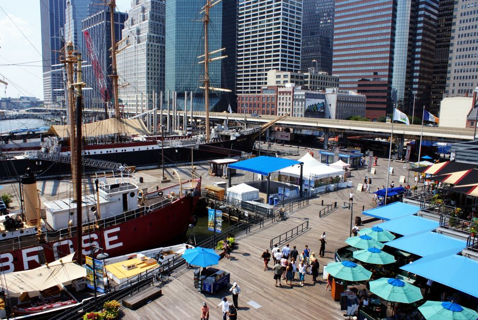 Can Art & Design Save the South Street Seaport?