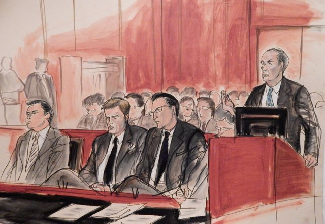 Tom Brady Drawing A Fumble, But Courtroom Artists Usually Score