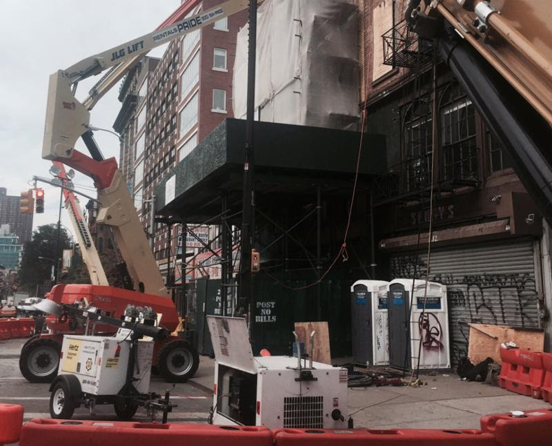 First Show at Bowery Space Postponed After Wall Collapse Next Door