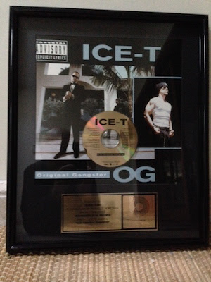 Congressional Hopeful Alex Law Offers Prize of Framed Ice-T Record to Contributors
