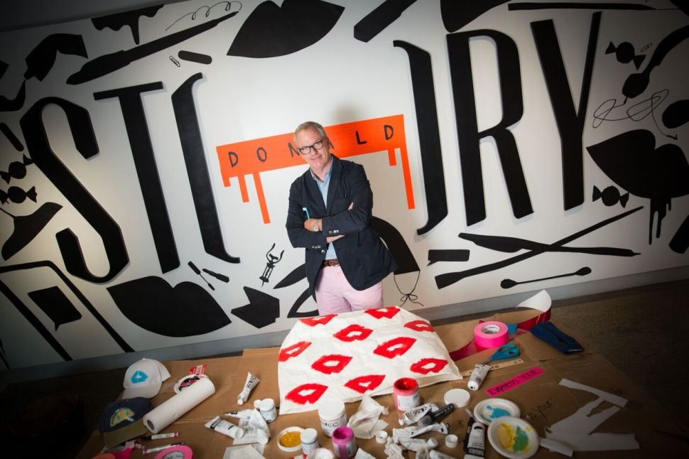 Meet Donald Robertson at the Debut of His Latest Collaboration With STORY