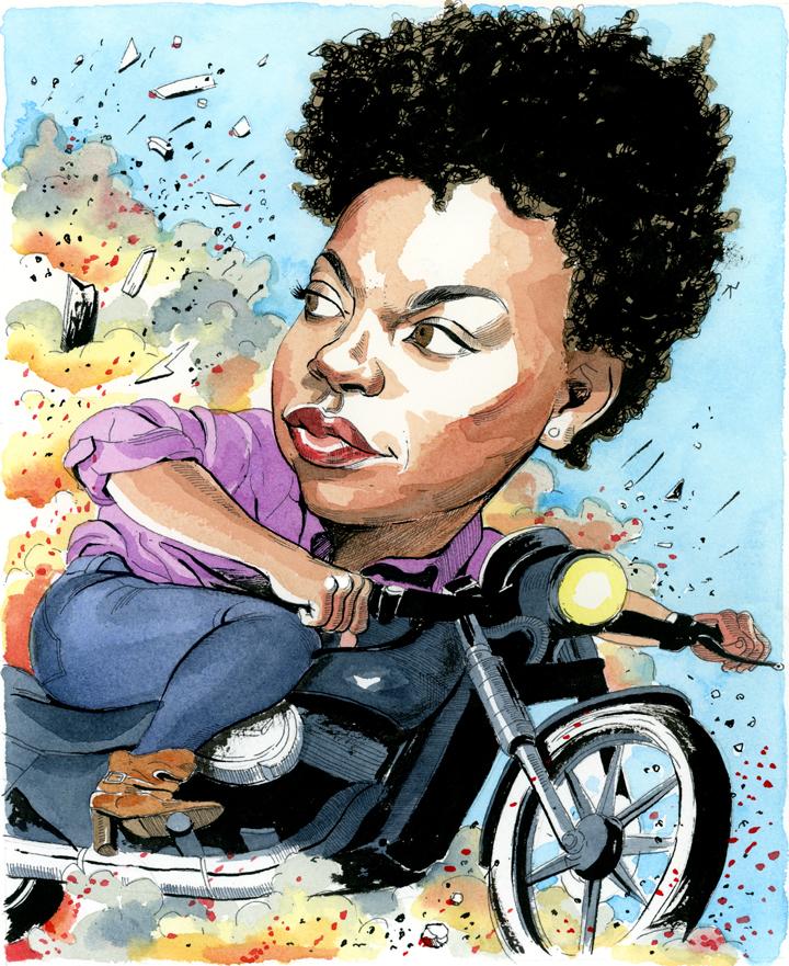 Sasheer Zamata on Race, Rejection and Her 'Badass' Future