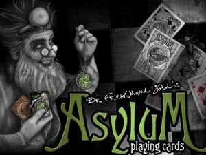 Anyone who backed Asylum Playing Cards on Kickstarter will be paid back for unfulfilled orders. (Photo: Facebook)