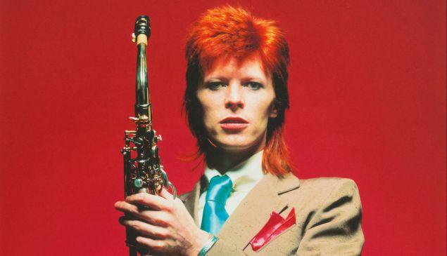 David Bowie by Mick Rock.