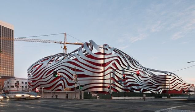 The new Peterson Automotive Museum in Downtown Los Angeles. (Photo: KPF)