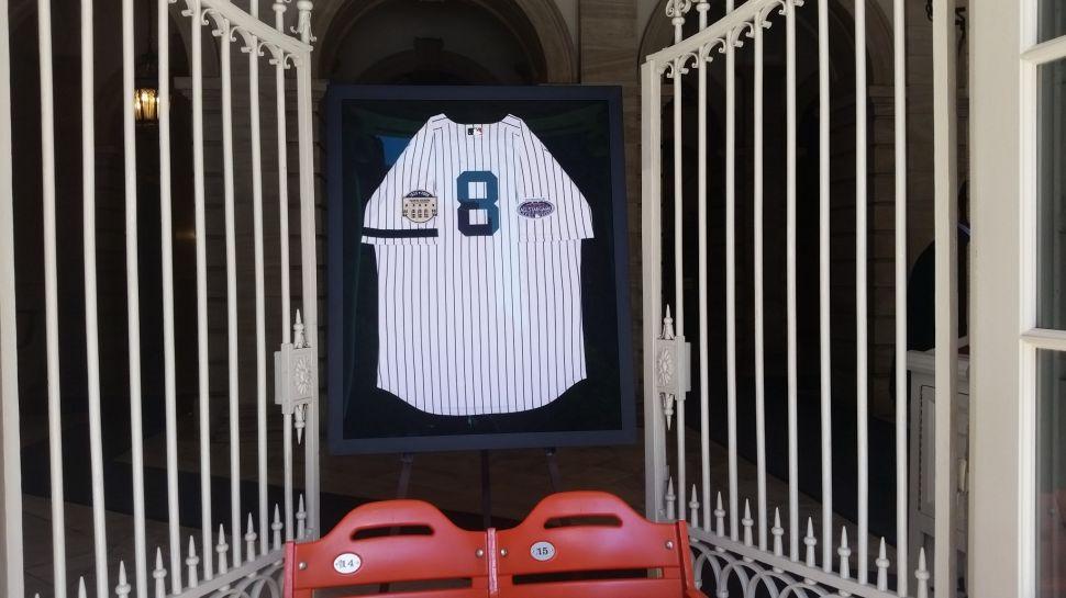 There's a Shrine to Yogi Berra at City Hall