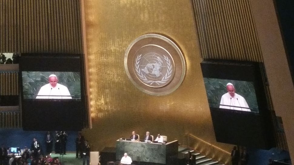 At UN, Pope Francis Declares the Environment Itself Has Rights