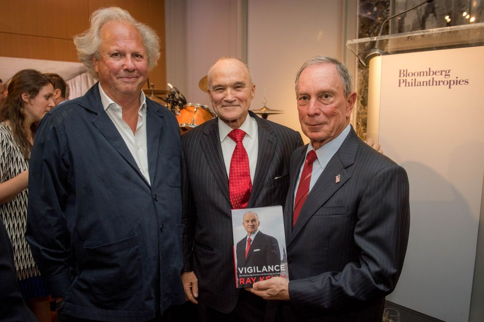 Power Players Still Gossiping Over Ray Kelly Book Party